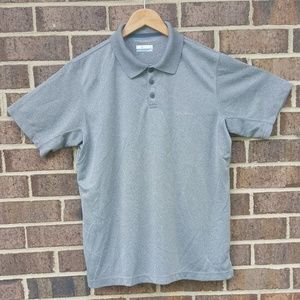 Columbia Men's Omni Shade Gray Golf Outdoor Tshirt
